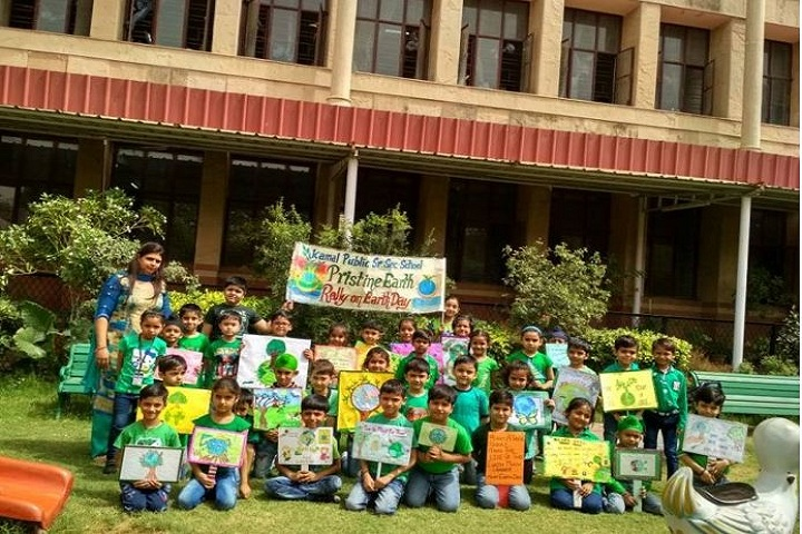 Kamal Public School-Earth day