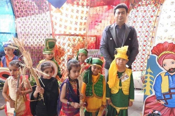 Kamal Public School-Festival Celebration