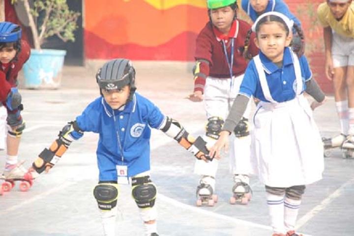 Kamal Public School-Skating