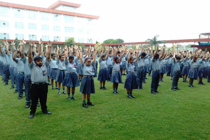 Kasturi Ram International School-Assembly