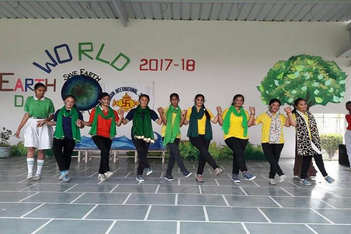 Kasturi Ram International School-Earth day