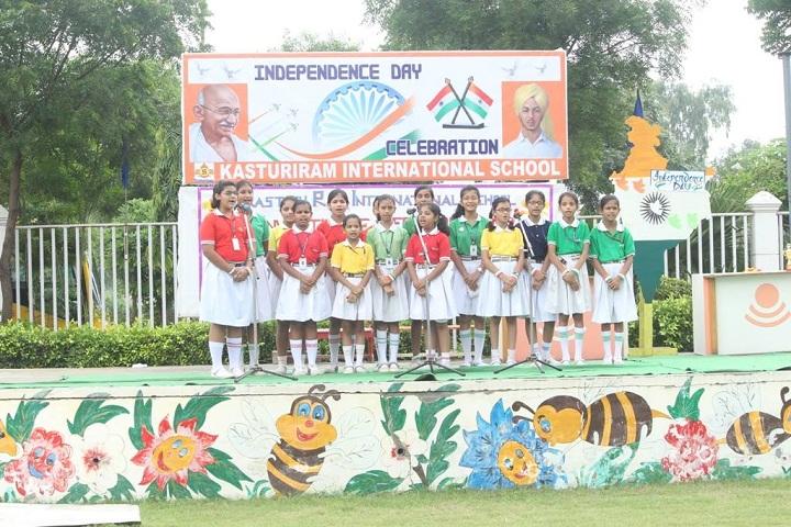 Kasturi Ram International School-Independence day