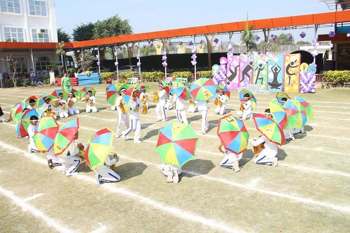 Kasturi Ram International School-Sports day