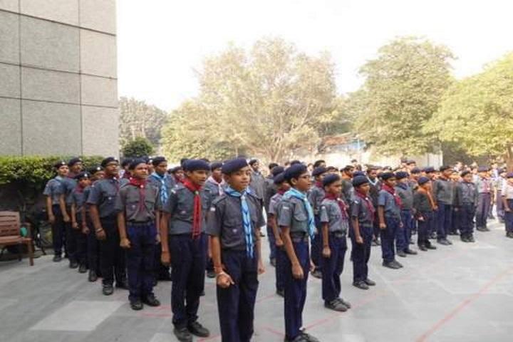 Kendriya Vidyalaya-Scout Foundation Day