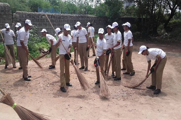 St Andrews High School-Swachh Bharat