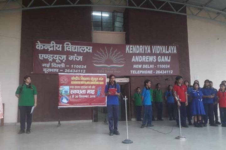 Kendriya Vidyalaya-Swachhata Pakhwada