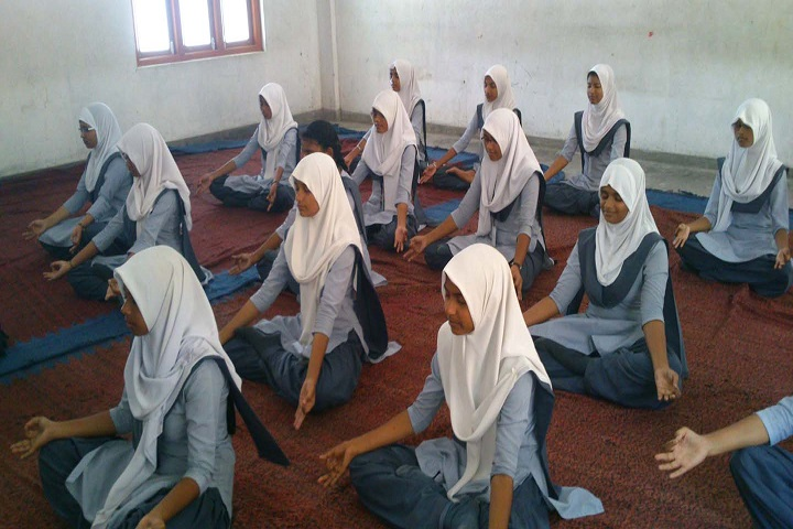 Crescent Public School-Yoga