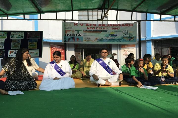 Kendriya Vidyalaya-Clear India FIt India