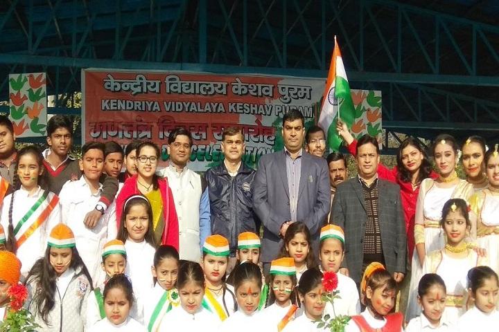 Kendriya Vidyalaya-Reuplic Day Celebrations