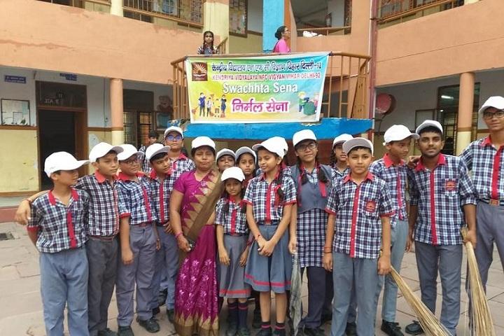 Kendriya Vidayalaya- Swatch Bharath Event