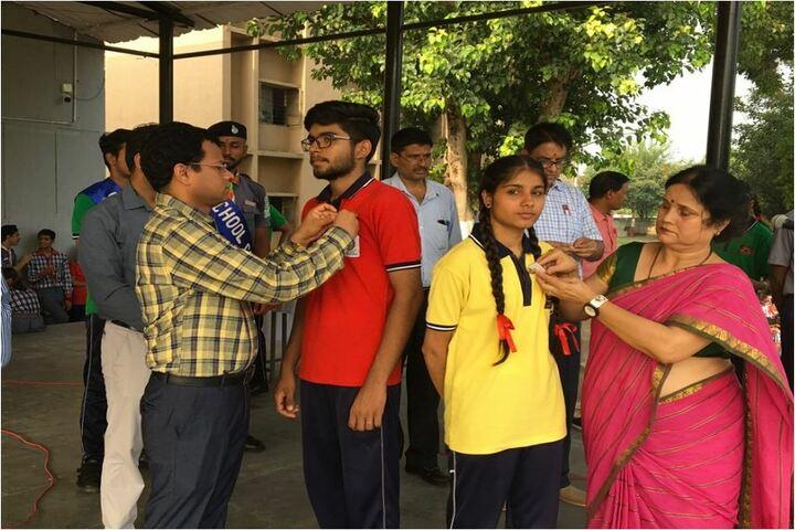 Kendriya Vidyalaya-Badge Ceremony