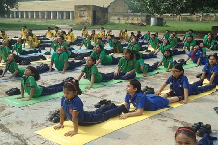 Kendriya Vidyalaya No 4-International Yoga Day Celebrations