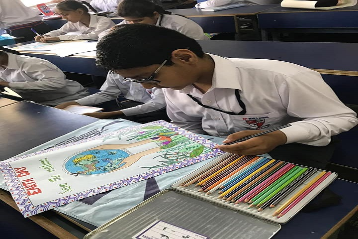 KIIT World School-Drawing Competition