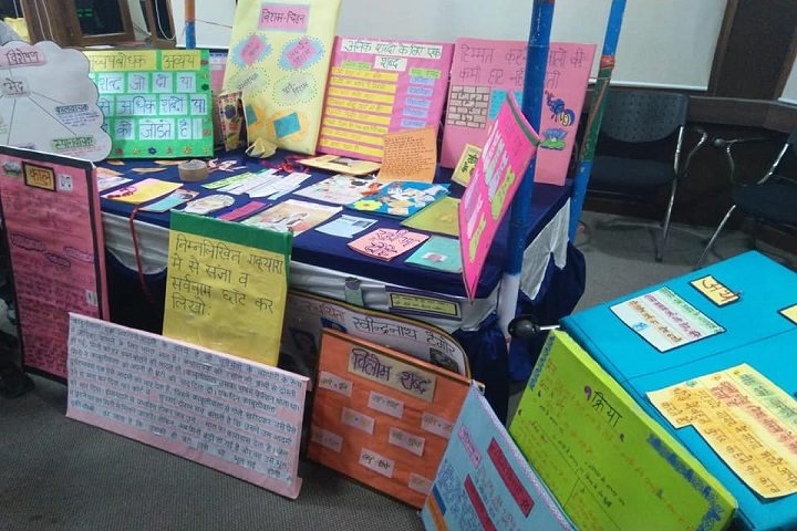 KIIT World School-Hindi Exhibition
