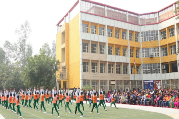 KIIT World School-Yoga