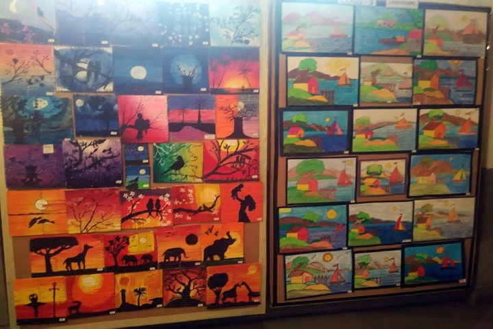 Lancers Convent Senior Secondary School-Annual Art Fair