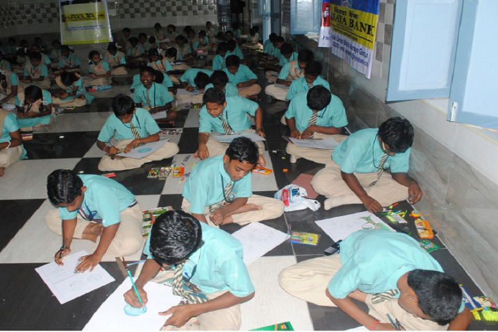 St Josephs High School-Drawing Competition