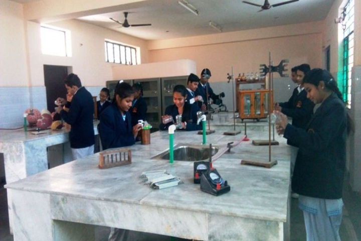 M.R. Bharti Model Senior Secondary School-Chemistry Lab