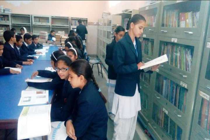 M.R. Bharti Model Senior Secondary School-Library