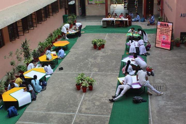 Maharaja Agarsain Public School-Drawing Competetion