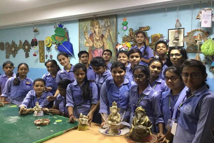 Maharaja Agarsain Public School-Clay Modelling