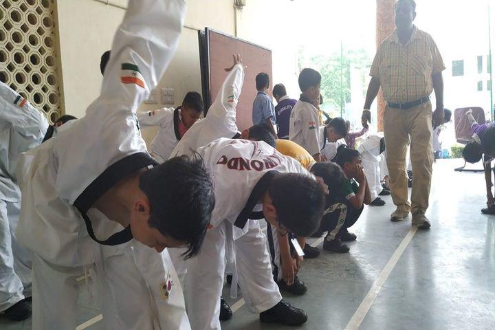 Maharaja Agarsain Public School-Taekwondo