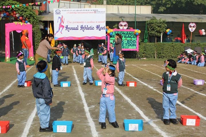 Maharaja Agarsain Public School-Games