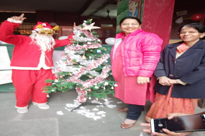 Maharishi Dayanand Model School-Events christmas