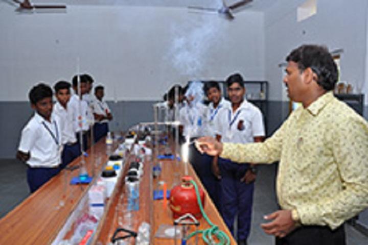 St Johns English Medium School-Chemistry Laboratory