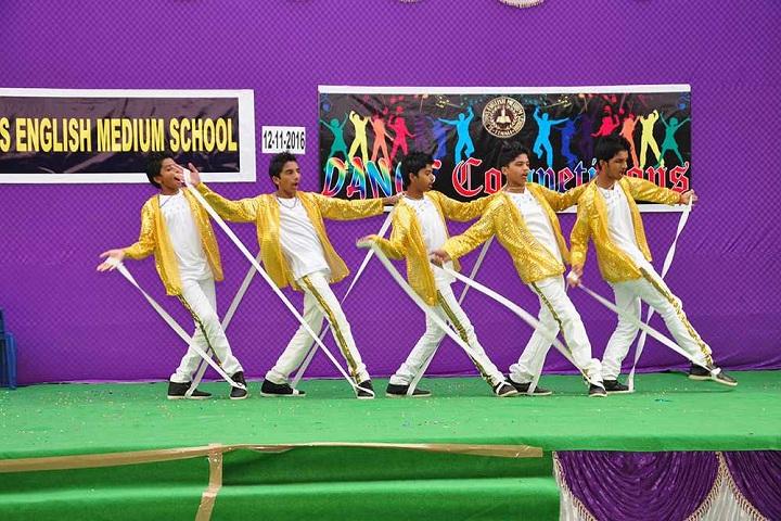 St Johns English Medium School-Dance