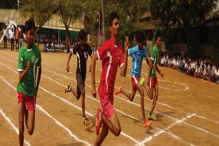 St Johns English Medium School-Sports