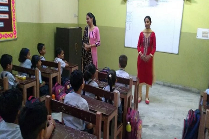 Mata Bhatee Devi Public School-Classroom