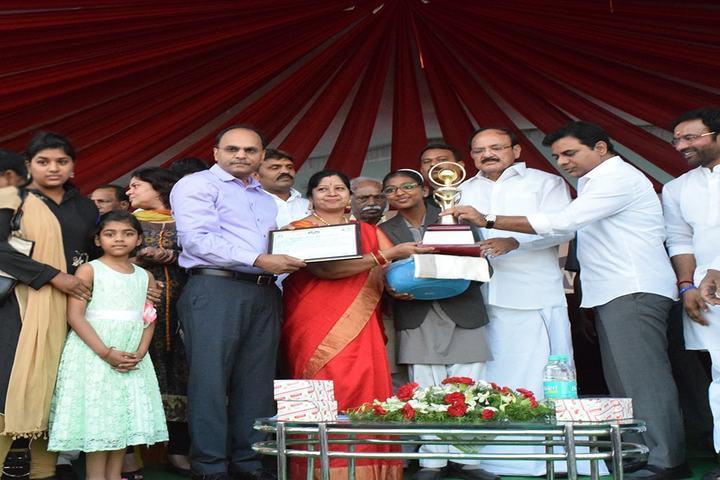 Sunflower School-Green Field Trophy