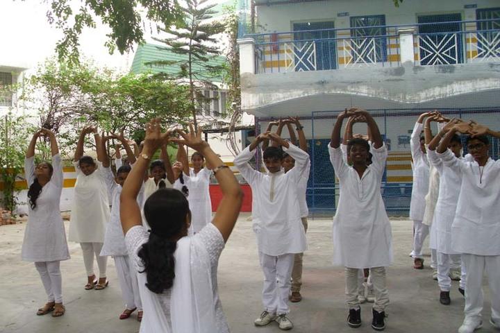 Sunflower School-International Yoga Day