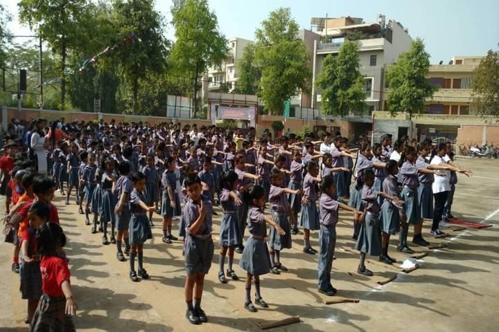 MHDC Saraswati Bal Mandir-Assembly
