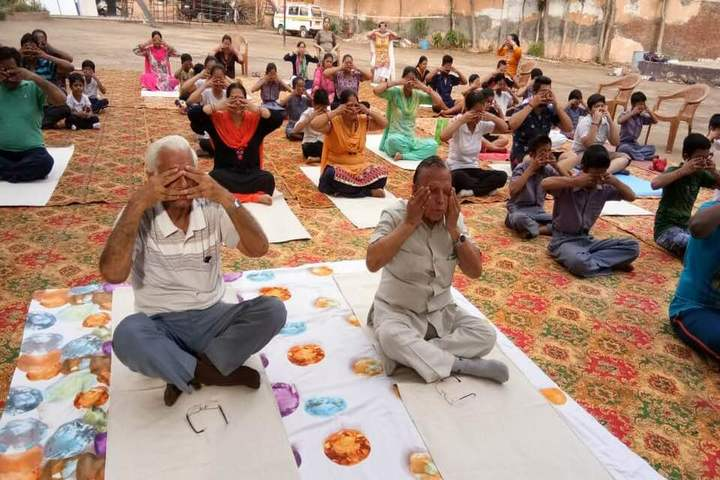 MHDC Saraswati Bal Mandir-International Yoga Day