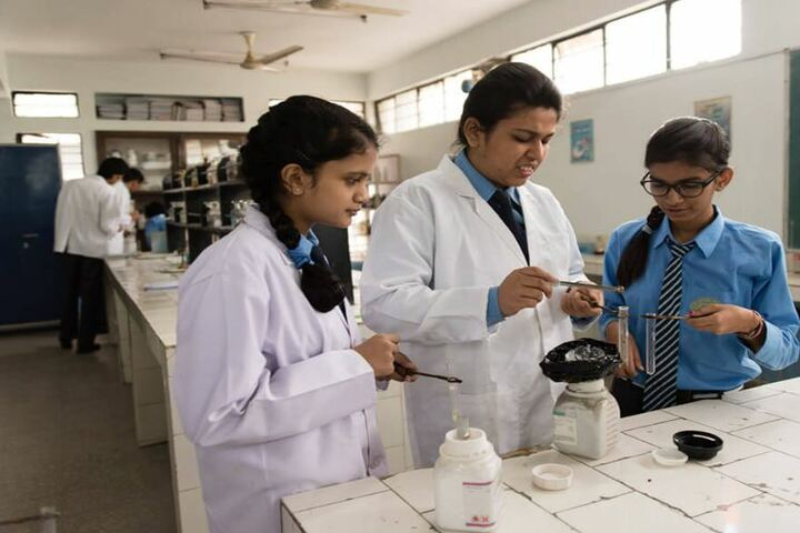 Mira Model Senior Secondary School-Chemistry Lab