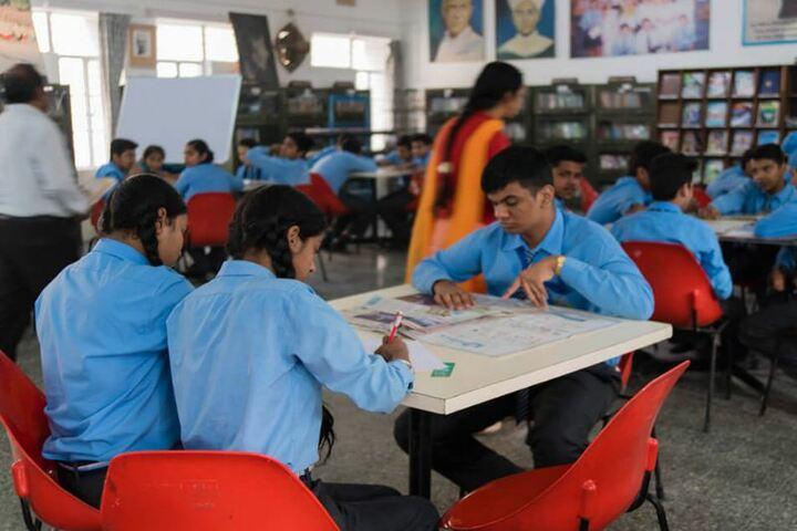 Mira Model Senior Secondary School-Library