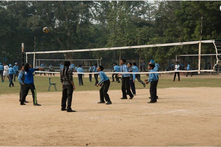 Mira Model Senior Secondary School-Volley Ball Court
