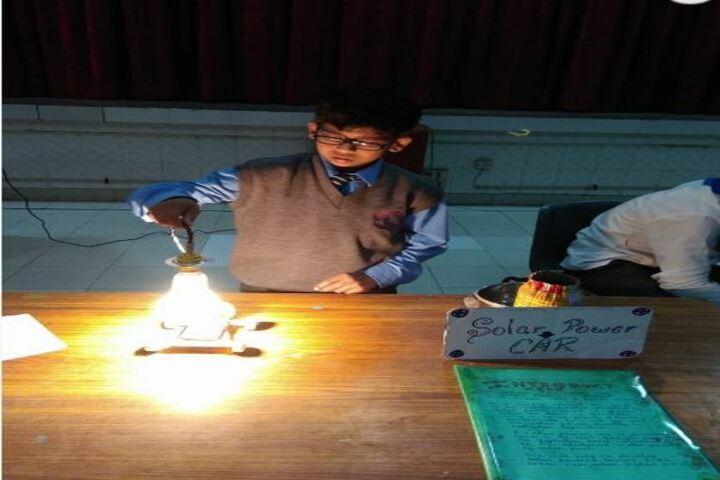 Mira Model Senior Secondary School-Science Exhibition