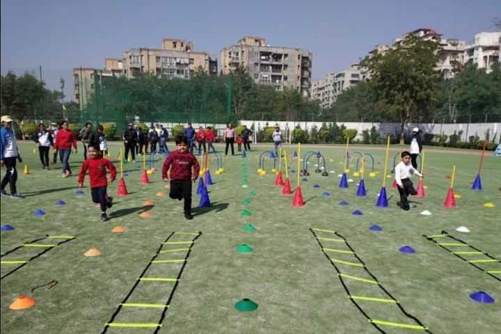 Modern Convent School-Games