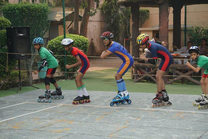 Modern Convent School-Skating