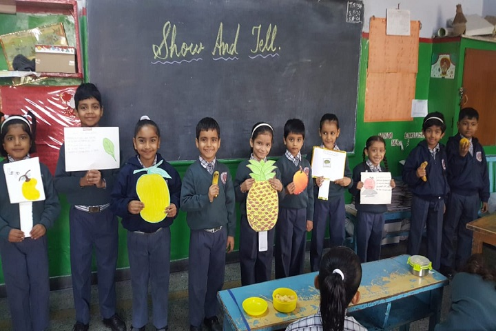 Modern Era School-Show And Tell Activity
