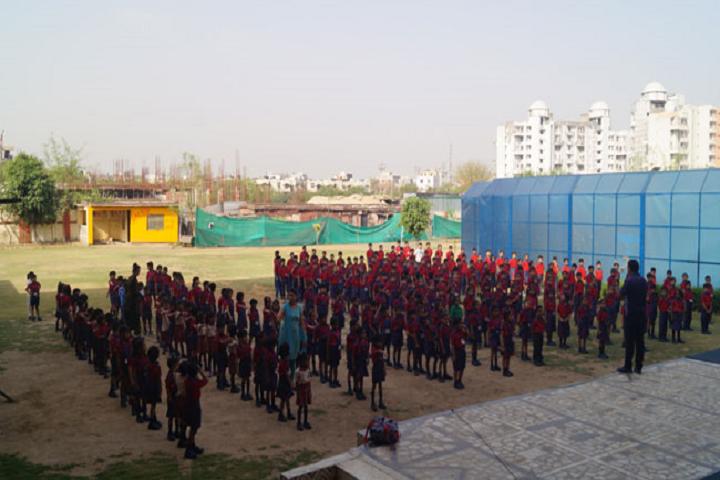 Modern International School-School Ground