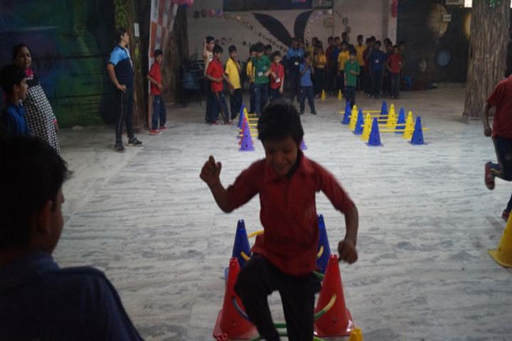 Modern International School-Fun Day Activities