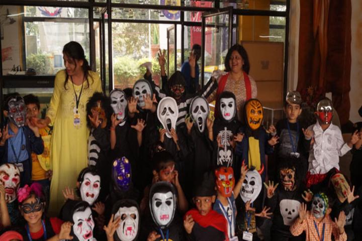 Modern International School-Halloween Day