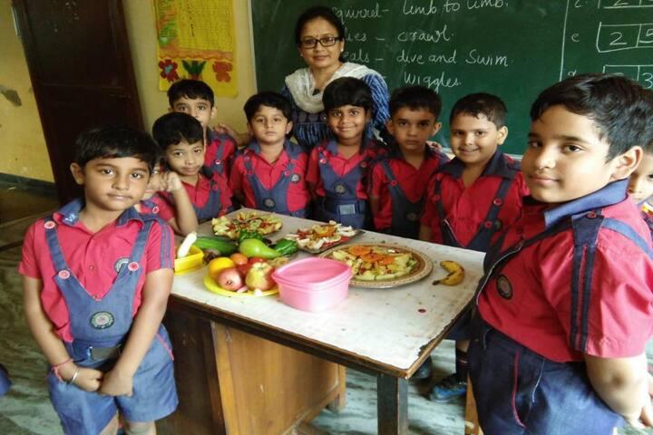 Modern International School-Cooking Activity