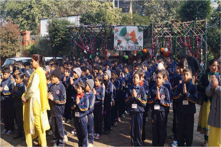 Modern International School-Morning Assembly