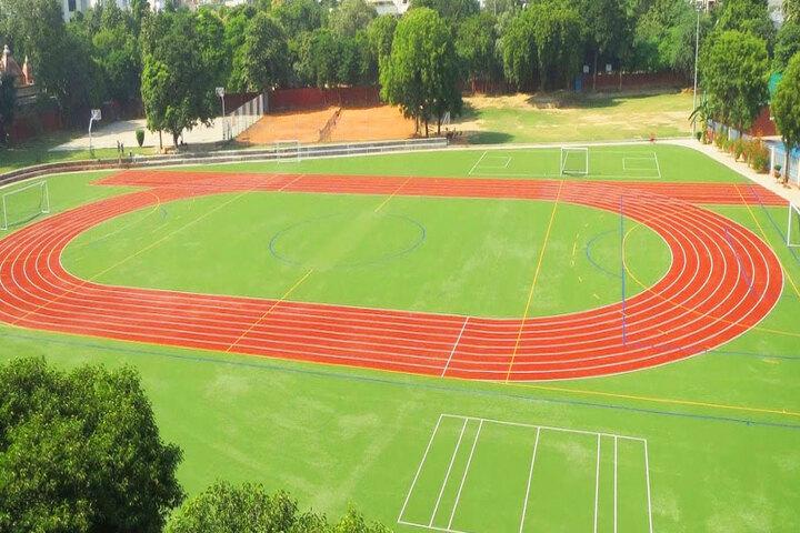 Modern School-Foot Ball Court