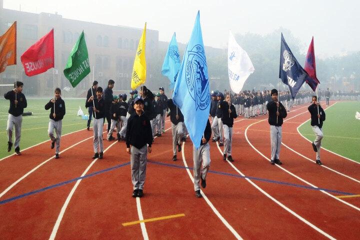 Modern School-March Past
